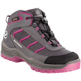 Scarpa Mistral Kid GTX Shoes Kids gray/fuxia